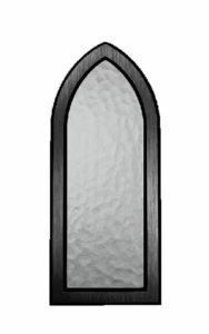 Kiven sisään tehtävä kynttiläpaikka (vasempaan kivenpalaan), musta